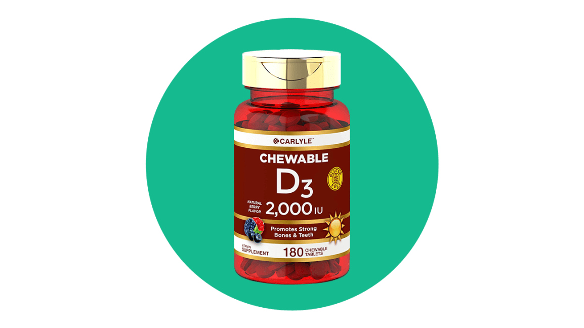 carlyle chewable d3
