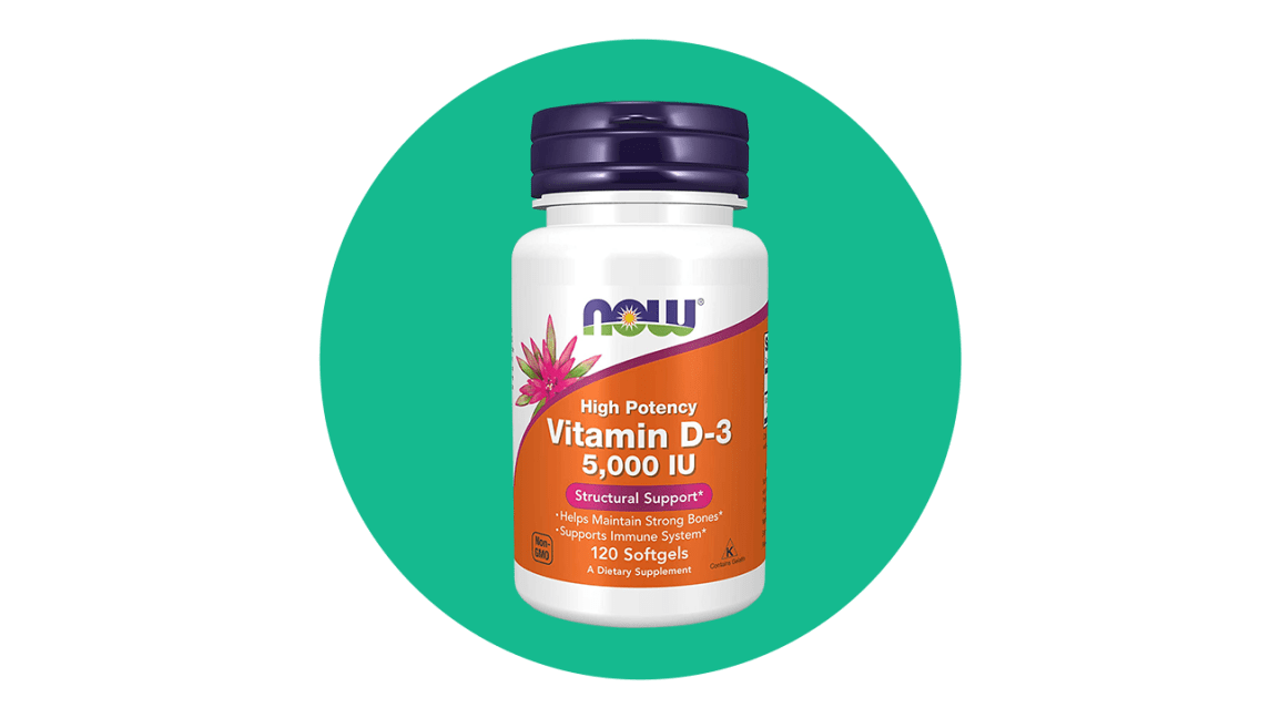 now high potency vitamin d3