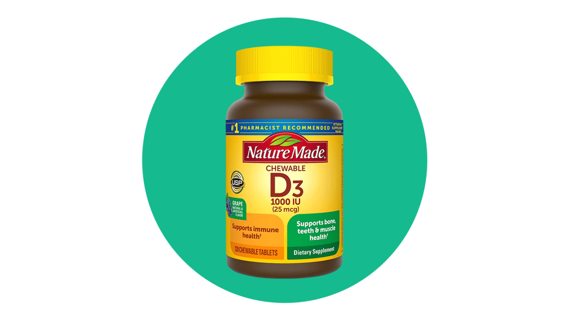 nature made vitamin d3 chewable