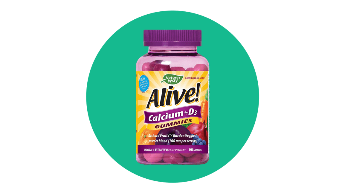 natures way alive calcium + d3