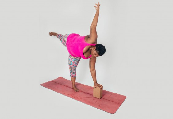 Strengthen your legs and stretch tight hips with this yoga pose
