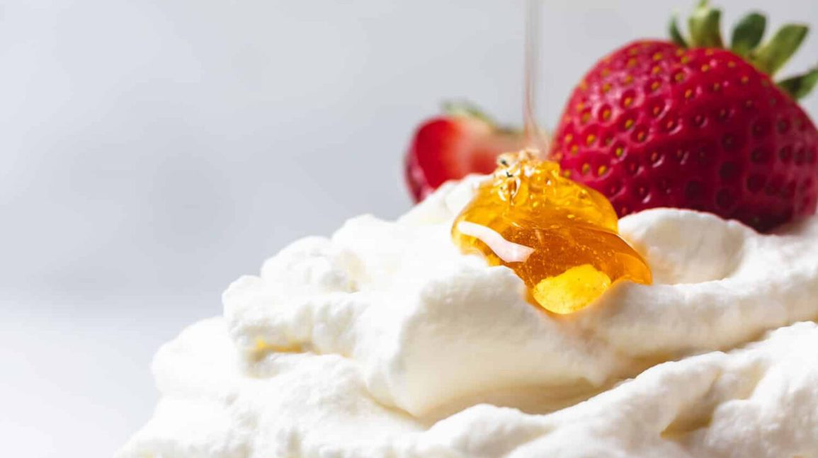 salted honey whipped cream