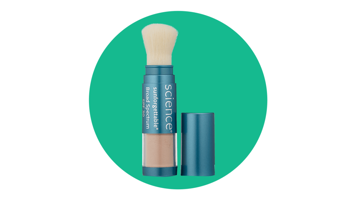Colorescience Sunforgettable best sunscreen for sensitive skin