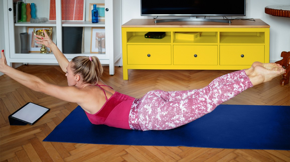 exercises at home for beginners