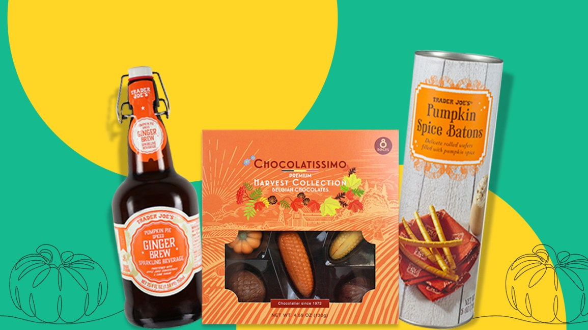 Best fall and pumpkin foods from trader joe's