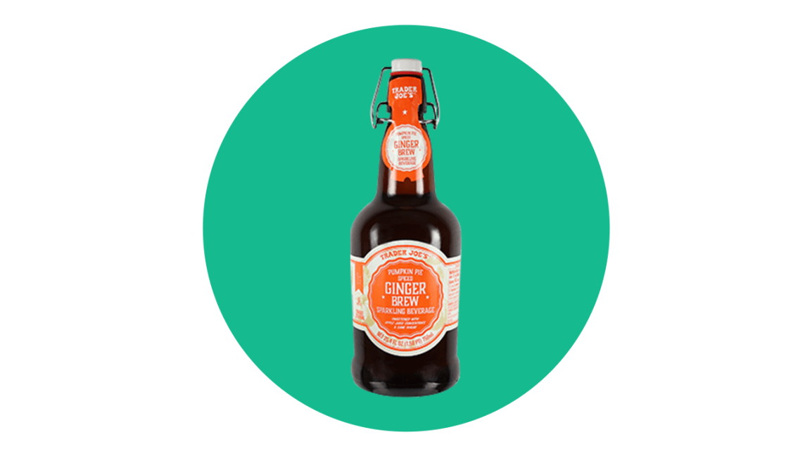 Trader Joe's Pumpkin Pie Spiced Ginger Brew
