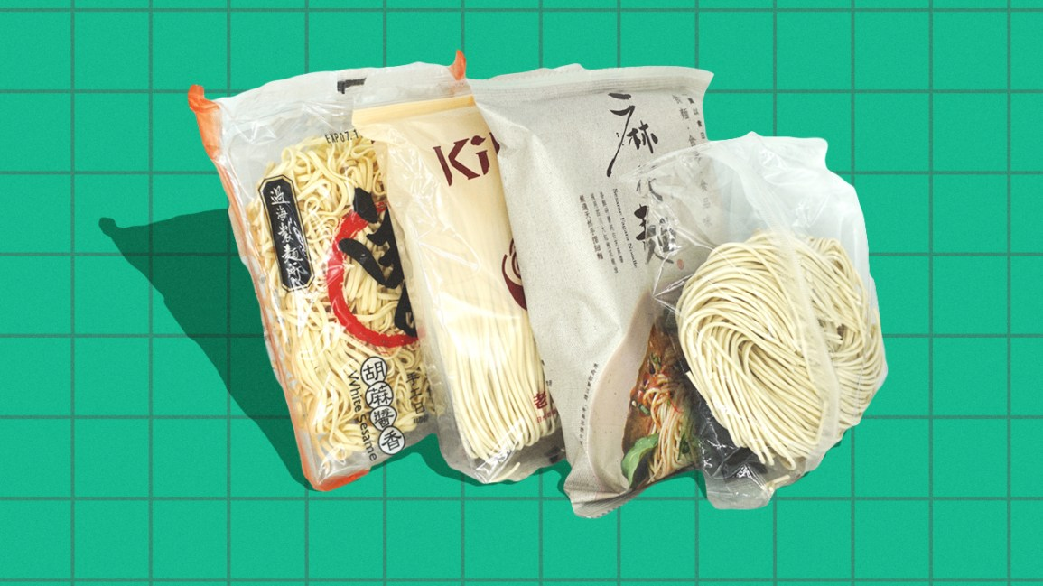 air dried instant noodles