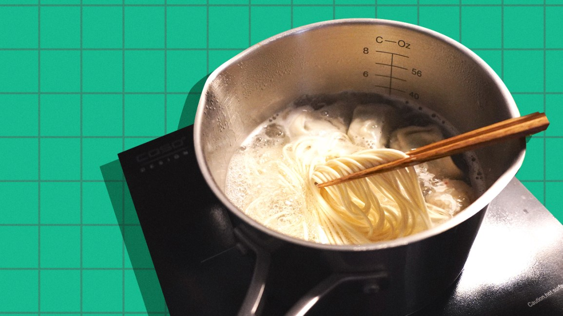cook your noodles like a hotpot