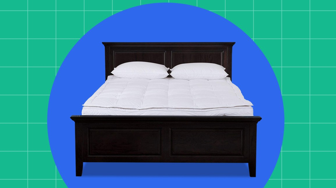 best down mattress topper