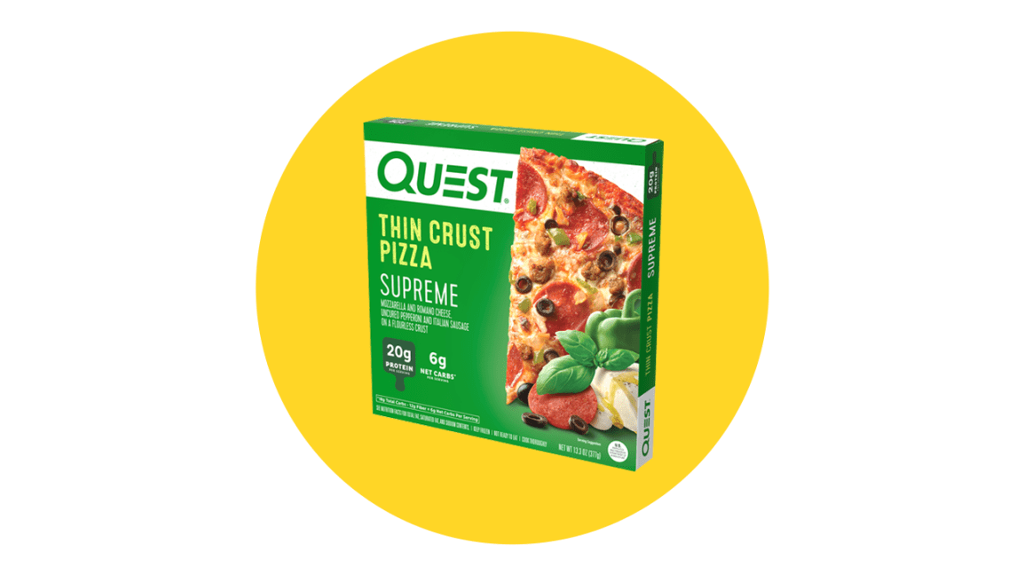 keto frozen meals quest
