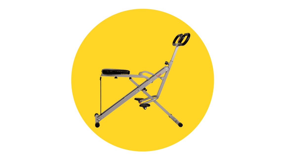 Sunny Health & Fitness Upright Rowing Machine
