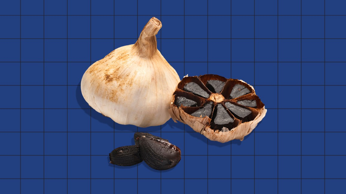 black garlic header
