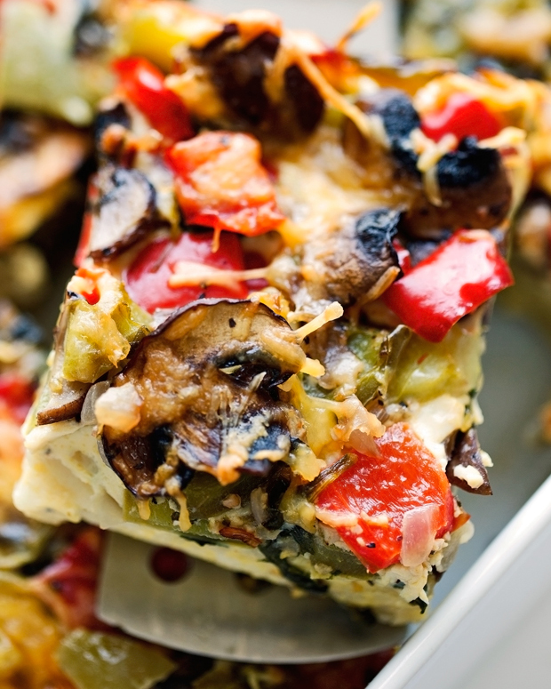 veggie loaded breakfast casserole