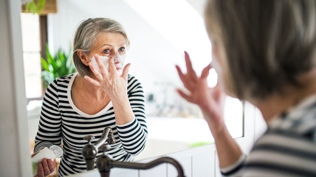 Age-Related Diseases and Skin Moisturizing