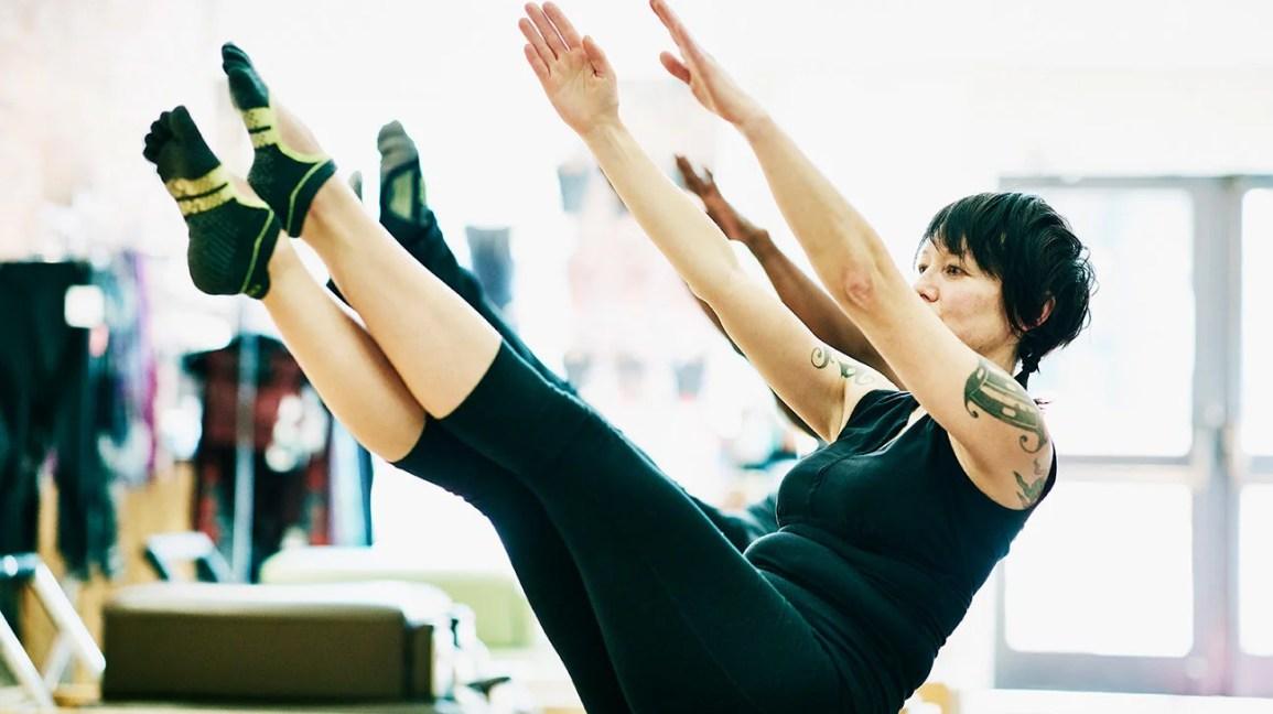 How to Do Pilates Leg Kicks