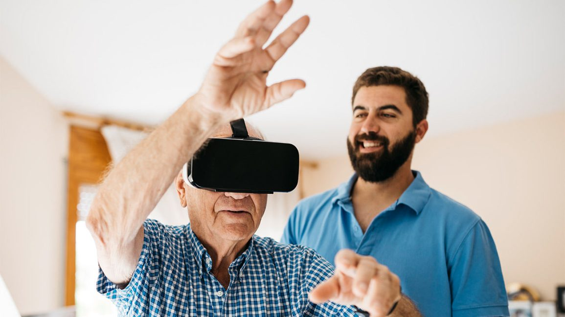 How Virtual Reality Can Help Seniors With Dementia