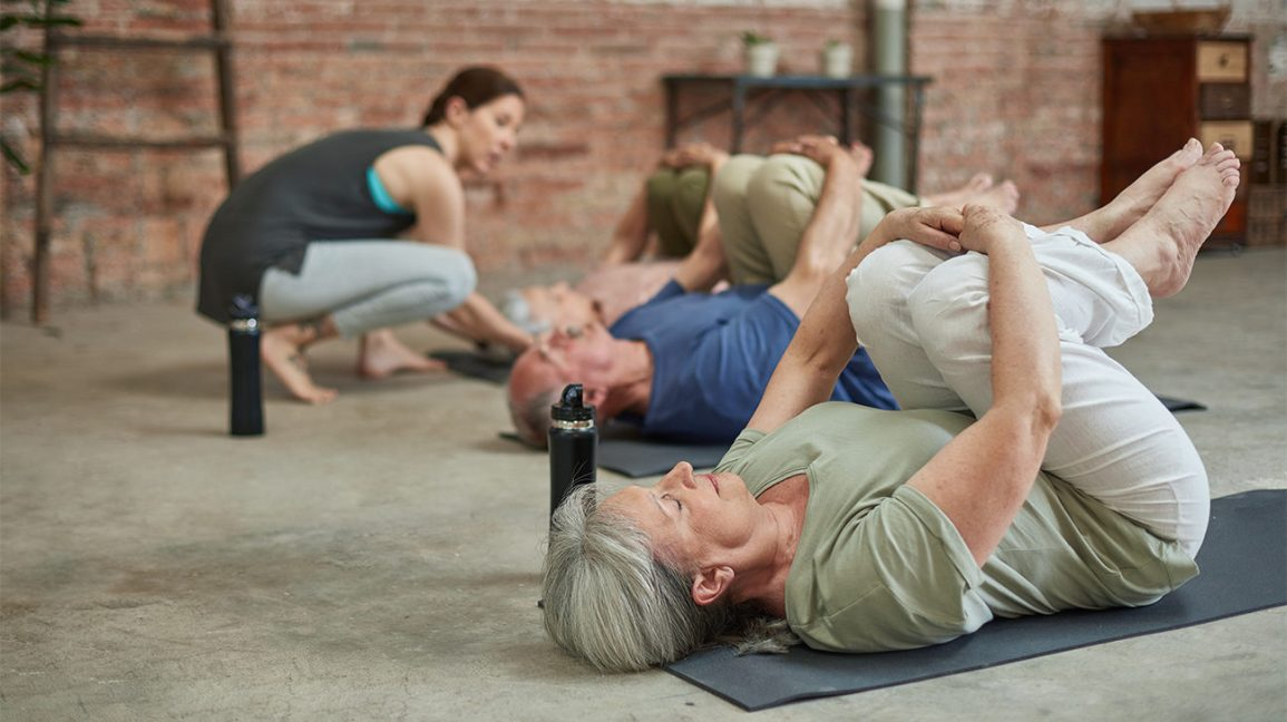 People with Parkinson's Can Increase Their Mobility with Mindful Yoga
