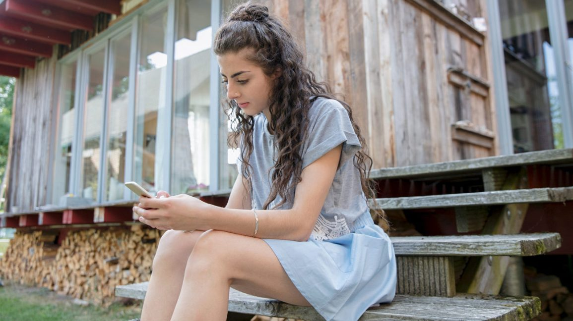 mensagens de texto de mulher