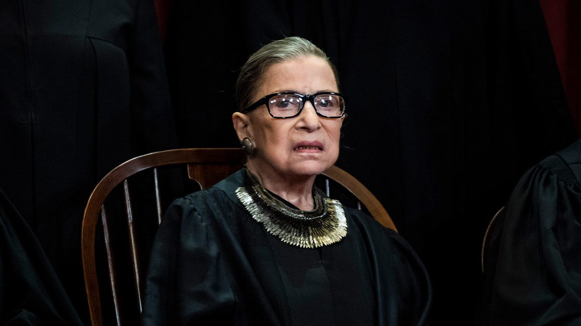 Ruth Bader Ginsberg Being Treated For Pancreatic Cancer