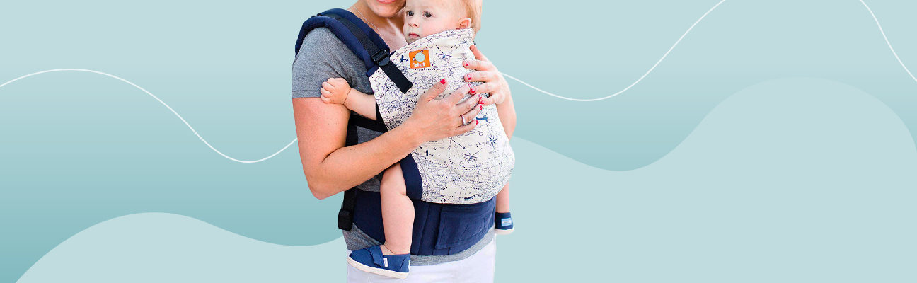 for Easy Wearing Carrying of Newborn Happy Cherry Baby Wrap Carrier Soft /& Breathable Infant Toddler