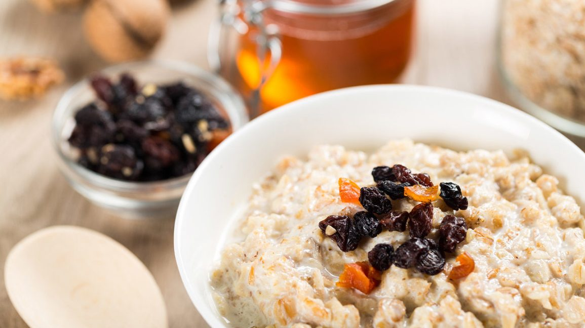 oatmeal and raisins