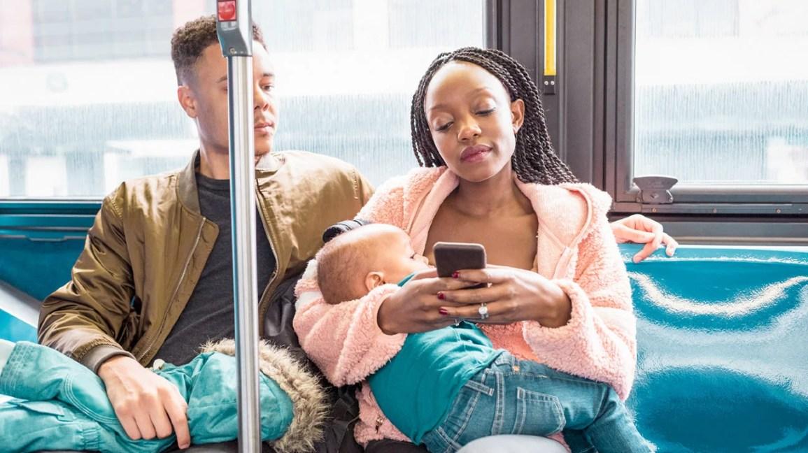 amamentação em público no transporte