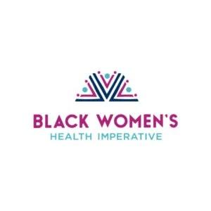 Logotipo imperativo da saúde da mulher negra