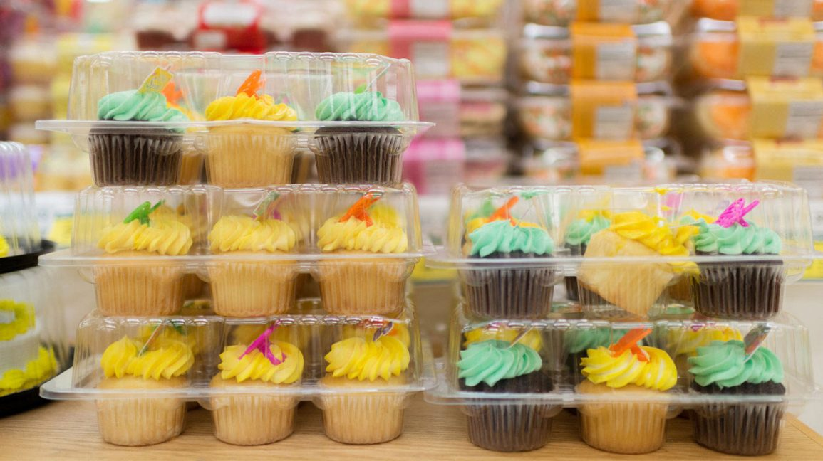 packaged cupcakes made with hydrogenated vegetable oils