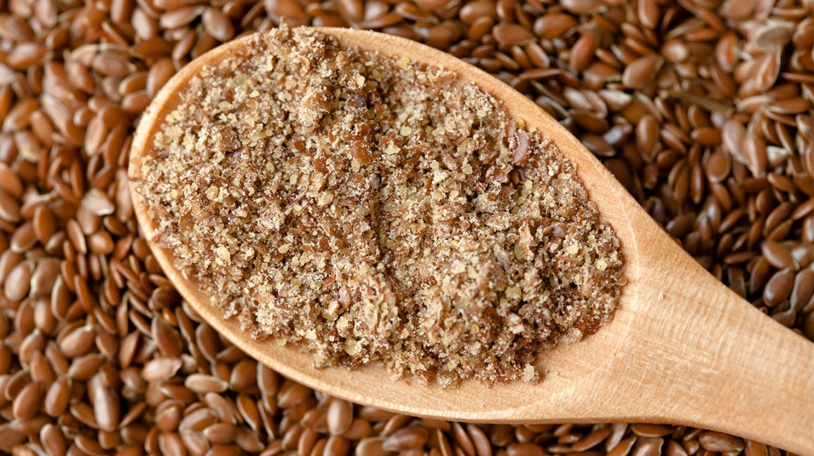 how to use ground flax on a diet