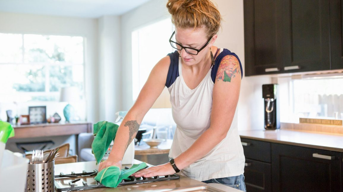 compulsive cleaning is one type of OCD symptom