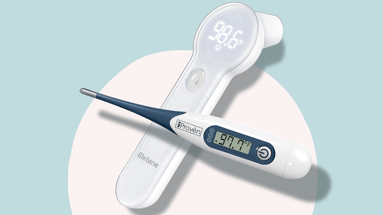 Clinical Digital Baby Thermometer Flexible Tip 10 sec Read Rectal Oral F*//C*