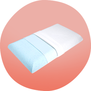 Picture of Belly Sleep Memory Foam Pillow