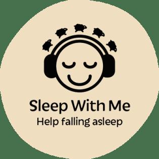 Logotipo do podcast Sleep with Me