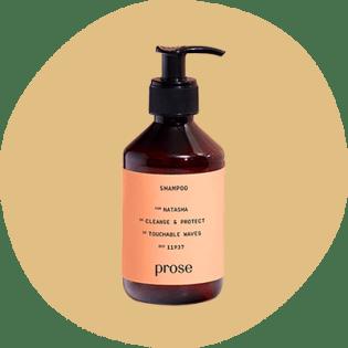 Frasco de shampoo personalizado em prosa