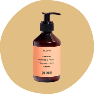 Prose Custom Shampoo bottle