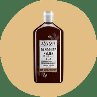 Frasco de shampoo Jason Dandruff Relief