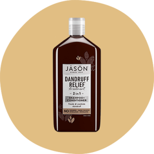 Jason Dandruff Relief shampoo bottle