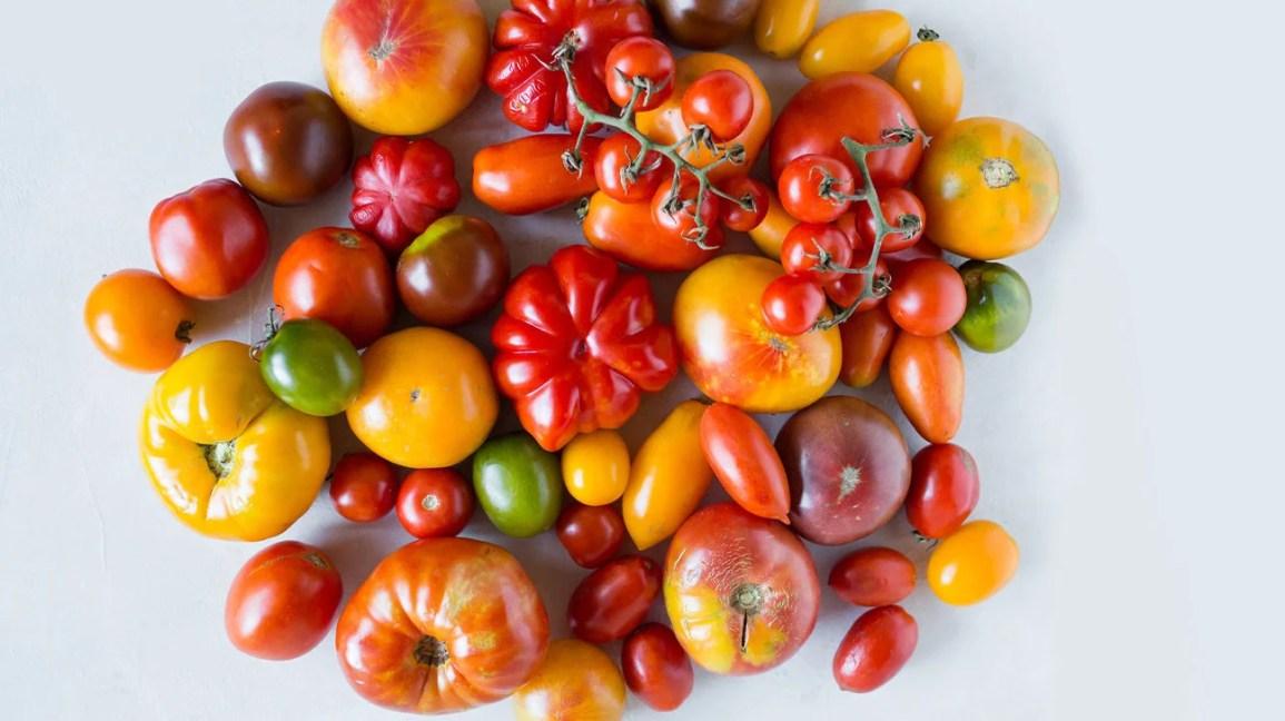 50 Seeds Large Tomato Orange Slice Vegetable
