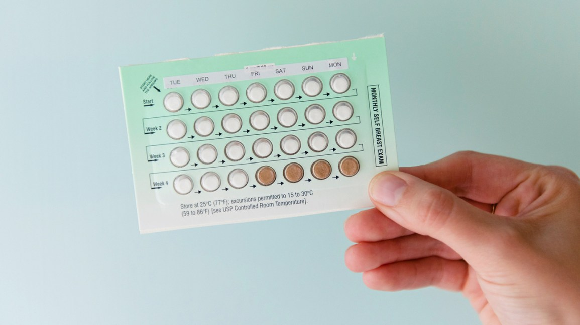 Birth control pill pack