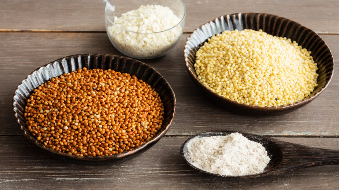 various types of millet