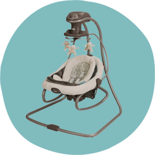 9 Best Baby Swings Of 2020 Healthline Parenthood