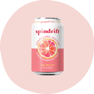 Spindrift sparkling water