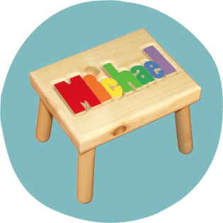Name stool from damhorst toys