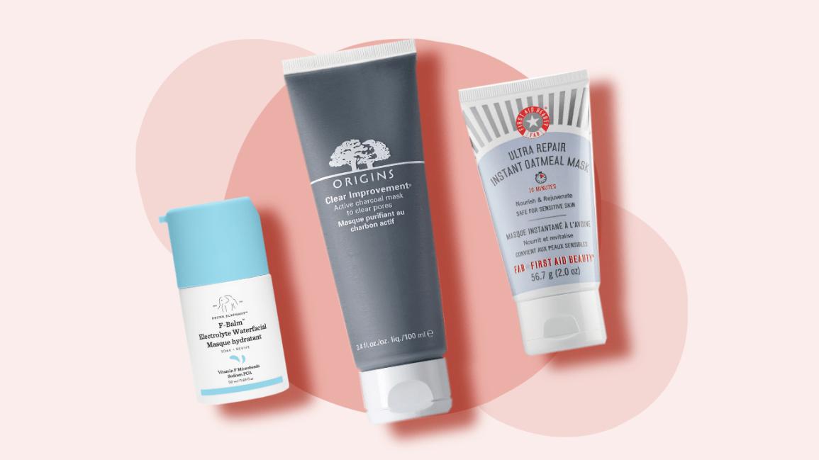10 Best Face Masks For Skin Care Based On Skin Type Needs