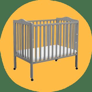 Delta Folding Mini Crib