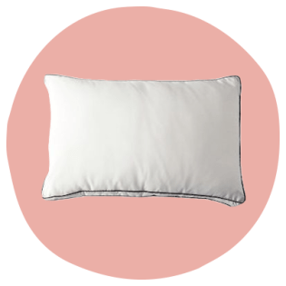 The Saatva pillow for stomach and side sleepers