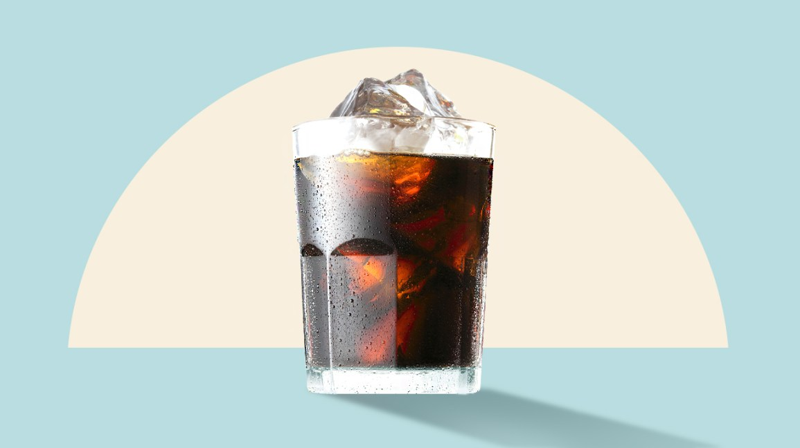 Cold brew coffee illustration