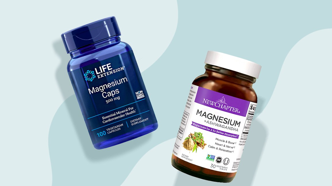 Magnesium supplement illustration