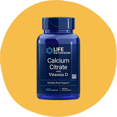 Life Extension's Calcium Citrate with Vitamin D