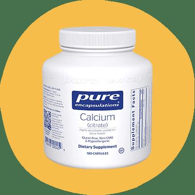 Pure Encapsulations' Calcium Citrate